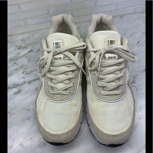 New Balance 990v4 x Stussy Cream sneakers